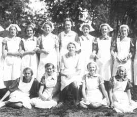 Hushållsskola 1939