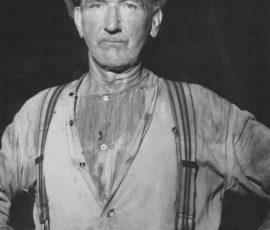 Algot Jonsson, (1886-1965). Anställd vid bruket 1919-1957. Smältare.