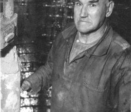 Axel Olsson. (1896 - 1975) Anställd 1920 - 1963  Martinarbetare  Mångårig ordförade i Metall avd. 17